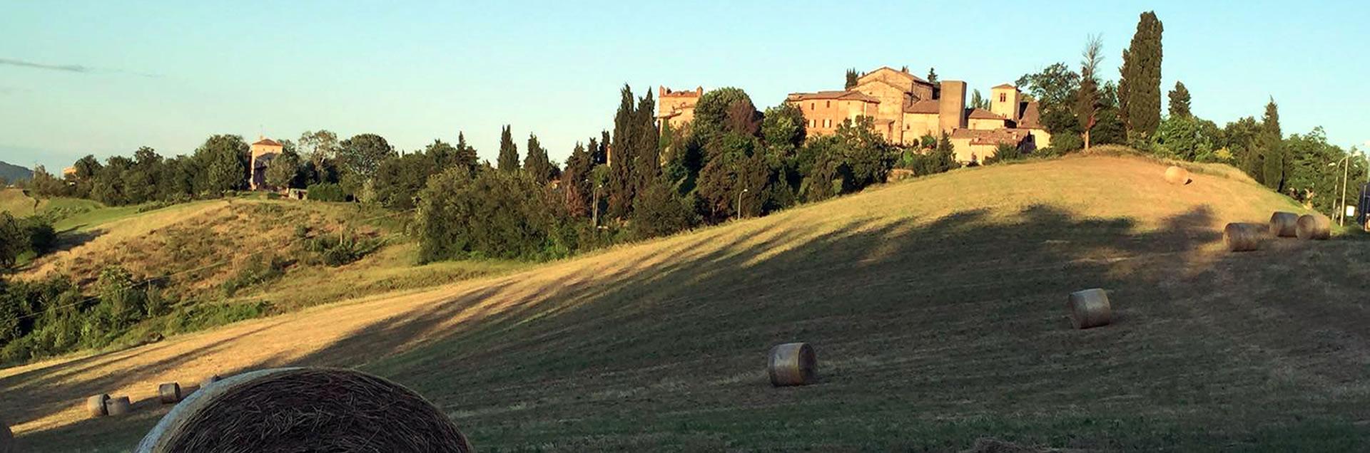 Panorama Monte San PIetro